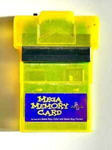 InterAct Mega Memory Card Nintendo GameBoy Color / Pocket Tested & Working