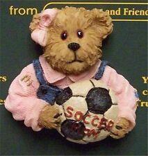 "Boyd's #26088 * Bearware Pin ""Proud Mama"" Soccer Mom Pin * Mint * Brand New"