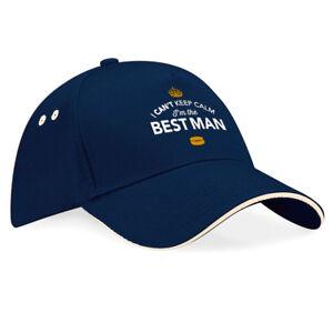 Best Man Gift Hat Keepsake Baseball Cap Stag Night Party Hat Survival Kit