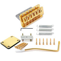 Electric Guitar Tremolo Bridge+Plate for Fender Strat ST Guitar Replacement Part