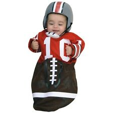 Football Bunting Ohio State Player Costume Halloween Fancy Dress