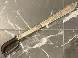 19th Century Folding Sword French - Belgian Navy and Pirates Licot Namur