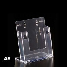 Espositore porta depliant formato A5 in plexiglass Leone per brochure locandine