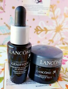 Lancome Advanced Genifique Youth Activating Concentrate & Eye Cream Kit NEW
