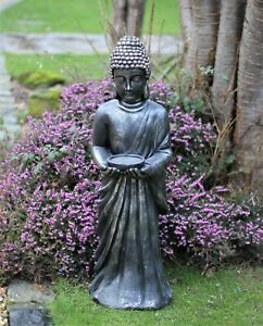 Garden Buddha Ornament Thai Zen Standing Large Ceramic Outdoor Decor 90cm