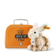 STEIFF Hase Melly blond gestromelt 18 cm im Koffer NEU 080449  UVP 44,90 Euro