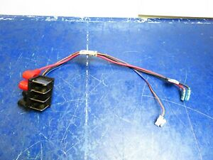 Golden Buzzaround LITE Controller to Rear Wiring Harness Block Scooter  #3261