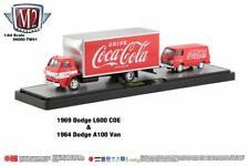 M2 Coca Cola Hauler TW01 '69 Dodge L600 Box Truck & '64 Dodge A100 Van