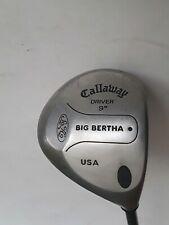 Callaway Big Bertha Driver Golf Club 9 degree Firm Flex