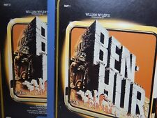 Ben Hur CED Video Capacitance Disc  2 disc,s 1959 Charlton Heston