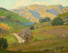 Wendt William Morning Light San Dimas Canvas 16 x 20    #8733