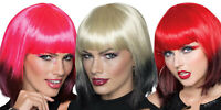 Ombre Wig female adult TV film woman clown costume hair dance fashion Rubies