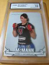 SARA MCMANN 2013 STRIKEFORCE # 3 GRADED 10