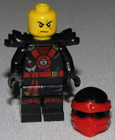 Lego New Kai Ninjago Minifigure Ninja Minifig Round Torso Emblem Fig