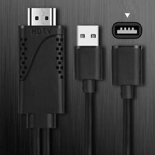 USB Femelle à HDMI Mâle Câble Adaptateur HDTV Android Smartphone iphone