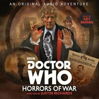 Doctor Who: Horrors of War 3rd Doctor Audio Original 9781787531734 | Brand New
