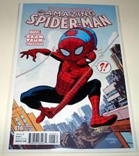 The AMAZING SPIDER-MAN # 16 Marvel Comic  Oct 2016  NM   TSUM TSUM VARIANT COVER