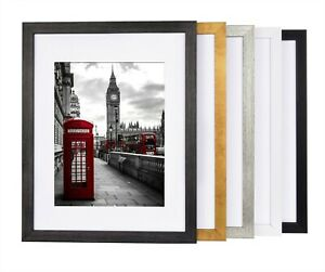 Photo Frame White Black Gold Grey Picture Frame Poster Frames A4 A5 Many Sizes