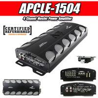 Audiopipe 4 Channels Mosfet Power Amplifier Car Amplifier ( APCLE-1504 ) RF