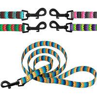 Dog Leash Nylon Lead for Dogs Training 5ft long Puppy Small Medium Large