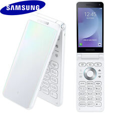 "✅ SAMSUNG GALAXY FOLDER 2 SM-G160N 3.8"" QUAD-CORE 32GB UNLOCKED PHONE (WHITE) ☑️"