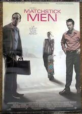 MATCHSTICK MEN ORIGINAL DS 1S ONE SHEET MOVIE POSTER 2003 NICOLAS CAGE LIE CHEAT