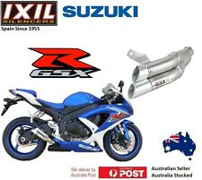 Suzuki GSX-R 750 2008-2009-2010 IXIL L2X Dual Hyperlow Exhaust