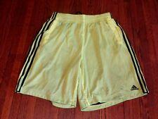 Men's Adidas Triple Up 2.0 Volt Green Black Mesh Basketball Shorts F48029 sz L