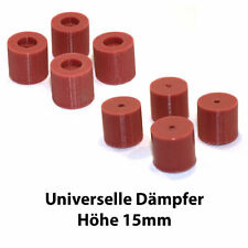 Silikondämpfer für 3D-Drucker zb Creality Ender, Hypercube, Anycubic, Uni - 15mm