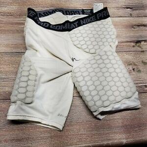 NIKE Pro Combat Mens Size Medium Padded Compression Shorts Football Girdle