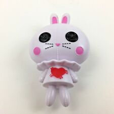 "Lalaloopsy Alice In Lalaloopsyland Pet White Rabbit 4"" Tall Plastic Figure 2012"