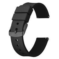 Anbeer часы ремешок для замены 14, 18, 20, 22, 24 мм, быстросъемный резиновый ремень мужские