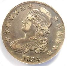 1834 Capped Bust Half Dollar 50C O-101 - ANACS XF45 Details (EF45) - Rare Coin!
