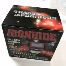 2002 Hard Hero Transformers IRONHIDE Mini Porcelain Bust LE # 0313/4000 NIB