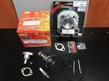 SCOOTER 150CC GY6 HIGH PERFORMANCE NCY CYLINDER KIT 61MM HEAD CAMSHAFT COMBO #1