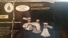 Mirabelle Cordoba Lavatory Faucet MIRWSCO800CP Chrome Finish. NIB