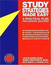 School Success: Study Strategies Made Easy : A Practical Plan for School...