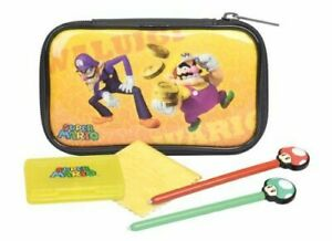 Travel Case For Nintendo 3DS / DSi / DS Lite Character Essentials Kit - Wario