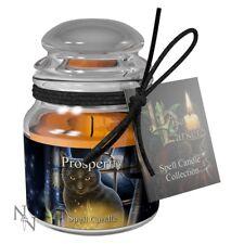 Small Black Cat Prosperity Candle 9cm Jar Lisa Parker Nemesis Now