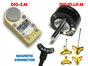 DIG3D.LP.M+DIG-Z.M CNC 3D digitizing probe+Z axis TLS with magnetic connector
