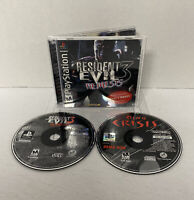 Resident Evil 3: Nemesis PlayStation 1 PS1 *COMPLETE DEMO DISC* Dino & Reg Card