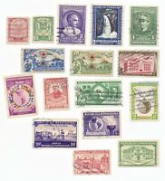 Dominican Republic Stamps 16 used stamps as pictured lot 1
