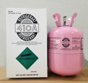 R410a, R-410A Refrigerant 25lb tank. New Factory Sealed ** Ebay**
