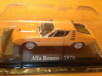 "DIE CAST ""ALFA ROMEO - 1970"" SCALA 1/43 RBA AUTO INDIMENTICABILI"
