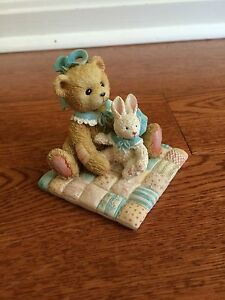 Lot Of 2 Friendship Cherished Teddies, Camille &Theodore, Samantha and Tyler