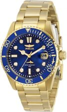 Invicta Women's 30484 Pro Diver Quartz 3 Hand Blue Dial Watch