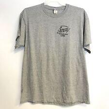 Mens T Shirt XL Sailor Jerry Spiced Rum Norman Collins Caribbean Gray Good Work