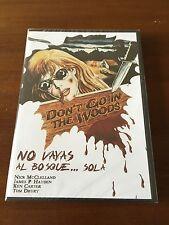 NO VAYAS AL BOSQUE SOLA - ED 1 DVD - NUEVO EMBALADO - NEW SEALED  - 78 MIN RARA