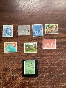 Seychelles Stamps. From 1954. M/U.
