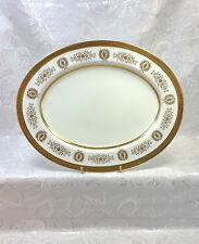 Coalport Lady Anne Gold Encrusted 15 Inch Oval Serving Platter